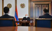 Le Président Armen Sarkissian a reçu le Ministre de la Justice Rustam Badasyan