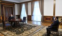 Le Président Armen Sarkissian a reçu le fondateur du programme éducatif Dasaran