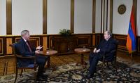 Я хочу верить, что мы станем сильнее, поскольку трудности, проблемы и кризисы делают тебя сильнее – Интервью Президента Армена Саркисяна российскому телеканалу РБК