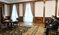 Le Président Armen Sarkissian a reçu le nouveau ministre de l'Industrie des hautes technologies Hayk Chobanyan