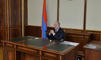 Президент Армен Саркисян принял Министра ОНКС Ваграма Думаняна