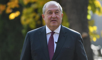 The congratulatory message of the President of the Republic Armen Sarkissian on the Festive Day of Motherhood and Beauty