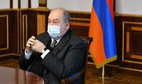 Президент Армен Саркисян принял Председателя Постоянной комиссии НС по государственно-правовым вопросам