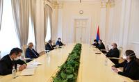 Le président Armen Sarkissian a rencontré un groupe d'avocats