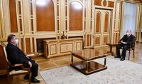 Le président Armen Sarkissian a reçu Gagik Jhangiryan, membre du Conseil judiciaire suprême