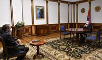 Le Président Armen Sarkissian a reçu le Professeur Arthur Ghambaryan
