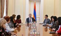 Արցախի Հանրապետության մի խումբ հանրային ծառայողներ այցելել են Հայաստանի Հանրապետության նախագահի նստավայր