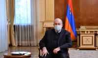 Le Président Sarkissian a reçu les leaders de plusieurs partis politiques