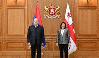 Մենք կարող ենք միասին աշխատելով ստեղծել նոր հնարավորություններ. հայ-վրացական բարձր մակարդակի հանդիպումներ
