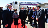 President Armen Sarkissian arrived in Georgia on an official visit
