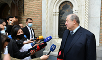 Հայաստանն ի վերջո պետք է դառնա ոչ թե փակուղի, այլ՝ խաչմերուկ. նախագահ Արմեն Սարգսյանն ամփոփել է իր պաշտոնական այցը Վրաստան