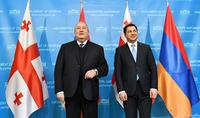 Мы должны поощрять реализацию совместных проектов. Президент Республики Армен Саркисян посетил Парламент Грузии
