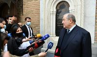 Армения должна, наконец, стать не тупиком, а перекрёстком – Президент Армен Саркисян подвёл итоги своего официального визита в Грузию