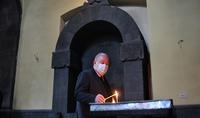 Նախագահ Արմեն Սարգսյանն այցելել է Սյունյաց թեմի առաջնորդանիստ Սբ Գրիգոր Լուսավորիչ եկեղեցի