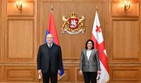 Nous pouvons travailler ensemble pour créer de nouvelles opportunités. Réunions de haut rang entre l'Arménie et la Géorgie