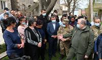 Президент Республики Армен Саркисян ознакомился с проблемами населённых пунктов Тех, Хнацах, Хознавар и Вагатур Сюникского марза