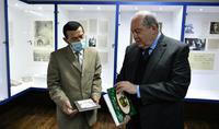 Президент Армен Саркисян в Горисе побывал в доме-музее Акселя Бакунца