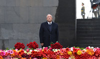 Discours du Président de la République d'Arménie, Armen Sarkissian, à l'occasion de l'anniversaire du génocide arménien