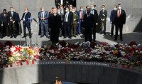 Президент Армен Саркисян воздал дань уважения памяти жертв Геноцида армян