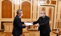 Мы высоко ценим то, как Франция относится к Армении и армянскому народу – Президент Армен Саркисян принял Госсекретаря Жан-Батиста Лемуана