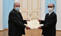 Армения и Япония могут сделать больше для расширения двусторонних отношений в ряде отраслей – Президент Армен Саркисян принял верительные грамоты посла Японии