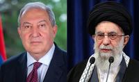 Le Guide Suprême de la Révolution Islamique Sayyid Ali Khamenei a envoyé une lettre de remerciements au Président de la République d'Arménie Armen Sarkissian