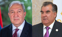 I am convinced that the Armenian-Tajik friendly relations will develop and multiply in the future. The President of Tajikistan congratulated President Armen Sarkissian
