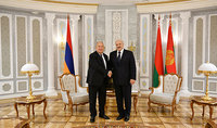The great victory will forever remain in the heroic history of our countries. President of Belarus Alexander Lukashenko congratulated President Armen Sarkissian
