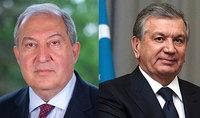 Հայրենական մեծ պատերազմում հաղթանակի տարեդարձի առթիվ նախագահ Սարգսյանին շնորհավորական ուղերձ է հղել Ուզբեկստանի նախագահը