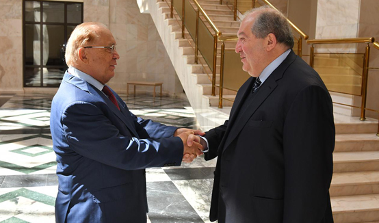 Armenian-Russian cooperation in the fields of education and science has great potential. President Armen Sarkissian visited Lomonosov Moscow State University
