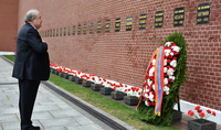 Рабочий визит Президента Армена Саркисяна в Москву
