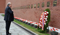 La visite officielle du Président Armen Sarkissian à Moscou