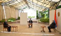 Президент Армен Саркисян принял ректора Французского университета Армении
