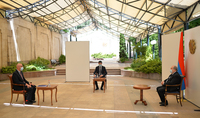 Le Président Armen Sarkissian a reçu le recteur de l'UFAR.