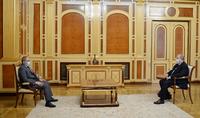 A l'initiative du Président Armen Sarkissian une réunion a eu lieu avec le Premier ministre par intérim Nikol Pashinyan