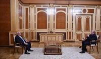 Le Président Armen Sarkissian a reçu le Président de l'UGAB Perch Sedrakyan