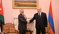 President Armen Sarkissian congratulated the King of Jordan on the Independence Day