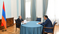 Президент Армен Саркисян и Защитник прав человека обсудили ситуацию на армяно-азербайджанской границе