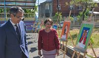 Ouverture d'une exposition arméno-kazakhe à l'orphelinat Marie Izmirlian sous les auspices de l'épouse du Président Nouneh Sarkissian