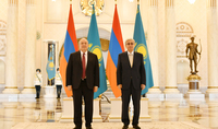 President Armen Sarkissian's working visit to the Republic of Kazakhstan