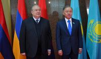 У Армении и Казахстана много общего и большой потенциал совместных проектов - Президент Армен Саркисян встретился с Председателем нижней палаты Парламента Казахстана