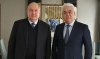 Необходимо работать в направлении разработки чётких программ – Президент Армен Саркисян встретился с Министром промышленности и инфраструктур Казахстана