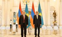 J'aimerais que la coopération entre nos deux pays soit beaucoup plus profonde et globale. La rencontre des présidents de l'Arménie et du Kazakhstan a eu lieu à Noursoultan