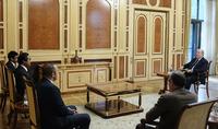 Nous attendons des investissements et de nouveaux programmes de coopération dans d'autres domaines également. Le Président Armen Sarkissian a reçu les représentants de la société Masdar