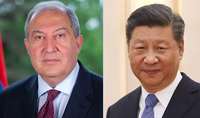 I am ready to make efforts with you to raise the bilateral relations to a new level. The President of China congratulated President Armen Sarkissian on his birthday