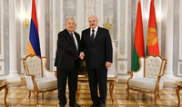 The friendship of our peoples is a solid basis for productive bilateral cooperation. President Armen Sarkissian sent a congratulatory message to the President of Belarus