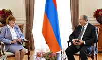 You have always stood by the Armenian people. President Armen Sarkissian congratulated Baroness Caroline Cox on her birthday
