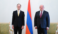 It is possible to do more for the development of Armenian-Australian relations. The newly appointed Ambassador of Australia to Armenia presented his credentials to President Armen Sarkissian