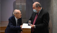 Eiichi Shibusawa's activity is a message of deepening Armenian-Japanese relations. President Sarkissian visited the Memorial Foundation of Shibusawa Eiichi, the famous Japanese businessman-philanthropist and a friend of the Armenian people