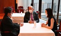 Նախագահ Սարգսյանը հանդիպում է ունեցել Միջազգային համագործակցության ճապոնական բանկի ղեկավարի հետ
